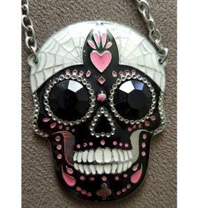 Sugar Skull Chain Necklace